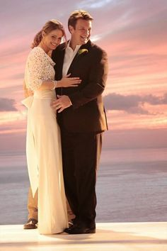 Introducing Mr. and Mrs. Castle ~ ! I love how Beckett wore awesome flowing pants instead of a dress