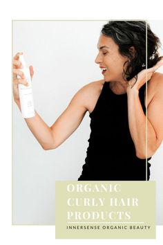 Organic curl cream gel mousse hair spray and shampoos all to style curly hair Its all about Innersense Organic Beauty This line moisturizes and defines my curls like a c. Shampoo For Curly Hair, Curly Hair Care, Curly Hair Styles, Natural Hair Styles, Organic Hair Dye, French Beauty Secrets, Beauty Tips, Mousse Hair, Natural Haircare