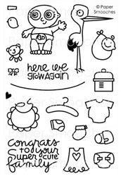 Pip Squeaks stamp set by Paper Smooches