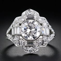 Beautiful Art Deco Diamond Ring