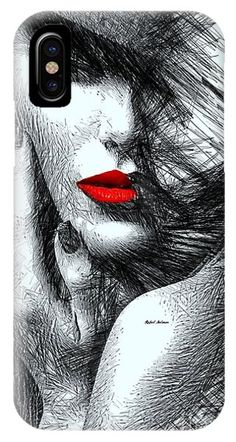 Fashion Flair In Black And White IPhone Case