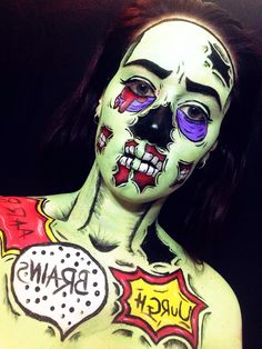 Pop art Zombie @JessInstantly