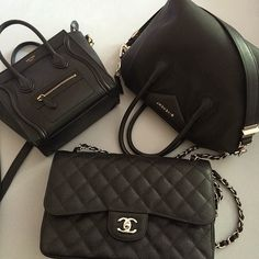 Celine-Givenchy-Chanel! Just go ahead and punch me in the face why don't you ❤️