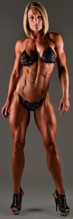"""Joelle Tyler -- Never Seen A """"Body Builder"""" In """"Spikes"""" -- Just Heard, Females Can Fight In Combat! R U Really Sure U Want To Do That? -- From B.O. Our DICKtator In Chief! - (dm)"""