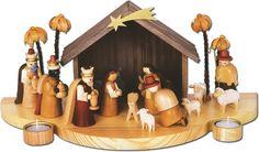 erzgebirge nativity set