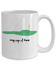 My cup of tee coffee mug Funny Mugs, Funny Gifts, Gifts For Dad, Gifts In A Mug, Diy Mugs, Mugs For Men, Birthday Mug, I Cup, Golf Humor