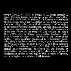 From the Art as Idea as Idea series, by Joseph Kosuth, 1966.