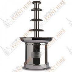 Chocolate Fountain. http://www.oxfordeventhire.co.uk/home/186-chocolate-fountain.html