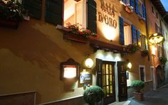 """See 4 photos and 3 tips from 22 visitors to Hotel Baia D'oro. """"A must for a 5 star meal in Gargnano. Attentive service and excellent cuisine and wines"""" 4 Photos, Four Square, Wines, Gold, Wine Cellars, Lake Garda"""