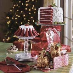 Chocolate-Red Velvet Layer Cake Recipe   MyRecipes.com