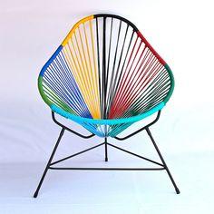 Fancy - Technicolor Acapulco Chair by Ocho Workshop