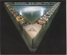 The Dinner Party, 1979, feminist art, installation, mixed media, American, Judy Chicago