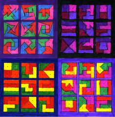 Decimal Art Projects | ... Miles, and Large Numbers: We worked with decimal numbers in this unit