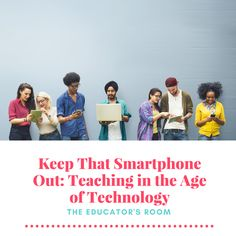 """Most educators in today's world remember a time when access to technology was difficult to come by. For instance, my family didn't have internet access until I was in junior high, and even then, those were the days of """"dial-up"""", where things took forever to load and where you couldn't be on the phone and"""