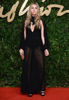 Immy Waterhouse aux British Fashion Awards 2015
