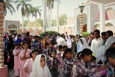 Children lined up to enter the auditorium  Day 3 - Over 1000 students attended and liked SEEDS (Karachi) and I SAY BHALLAJI (India) short films  2nd International Children's Film Festival Jamshoro 2016  As part of our outreach tour The Little Art in collaboration with institute of Sindhology Sindh University organized 2nd International Children's Film Festival in Jamshoro Interior Sindh.  For more details visit  Www.thelittleart.org  http://ift.tt/1m5aI0Z…