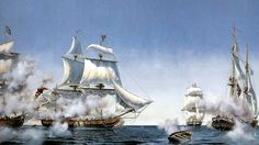 10th September 1813  Battle of Lake Erie - Peter Rindlisbacher