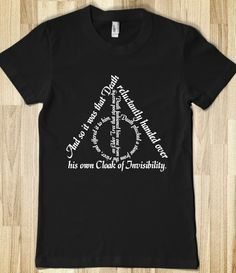 The Deathly Hallows White Ink, $28
