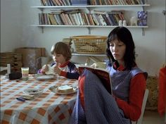 Danny Lloyd and Shelley Duvall in The Shining.Directed by Stanley Kubrick, movie released in Stanley Kubrick, Donnie Darko, The Shining, Jack Nicholson, Scary Movies, Good Movies, Greatest Movies, Film Movie, Jane Austen