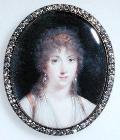 Lucie de la Tour du Pin - (1770-1853) Marquise de la Tour du Pin Gouvernet