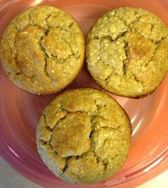 Flour-less Banana Oatmeal Muffins