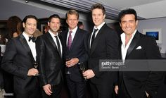 Urs Buhler, Sebastien Izambard, Andrew Castle, David Miller and Carlos Marin attends Best Beginnings at the grand opening of The Statoil Masters Tennis at Royal Albert Hall on December 4, 2013 in London, England.