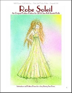 MHD Designs - Robe Soleil - Free Pattern for SD13 size Ball Jointed Dolls - PDF Download Page