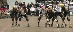 You Should Be Watching More Roller Derby Footage — Great Clears from Small Skaters