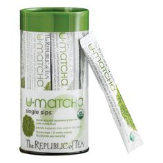 The Republic of Tea Organic U-Matcha Single Sips, 14 Single Servings of Premium Instant Matcha ** To view further for this item, visit the image link. (This is an affiliate link and I receive a commission for the sales)