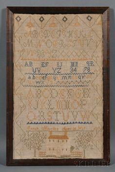 Sarah Marden Aged 14 1827 Rye, New Hampshire