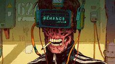 Cyberpunk(ish) workstations - photos and art Cyberpunk 2020, Arte Cyberpunk, Cyberpunk Aesthetic, Arte Robot, Comic Book Artists, Sci Fi Art, Character Design Inspiration, Art Sketchbook, Dark Art