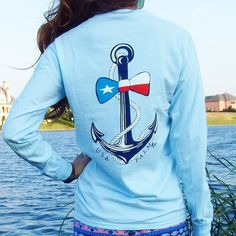 Stand out on the first day back to school in our pocketed anchor bow-tie shirt!