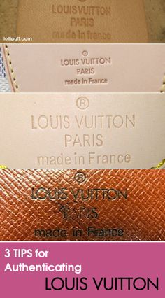 Read this Louis Vuitton bag authentication guide become more savvy about spotting a fake bag.