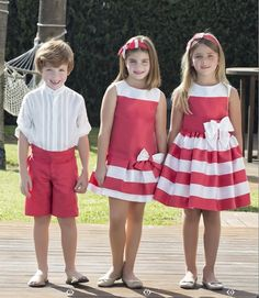 great for sisters Shirt Dress Pattern, Baby Dress Patterns, Baby Clothes Patterns, Girls Party Dress, Little Girl Dresses, Girls Dresses, Frocks For Girls, Kids Frocks, Toddler Fashion