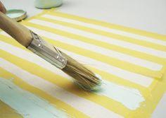 """Cómo pintar con #Chalkpaint tela, descárgate la """"Guía de la pintura Chalk Paint"""" en @idoproyect"""