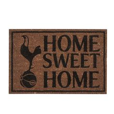 The Official Spurs Home Sweet Home Doormat is available from the official online Spurs Shop. Free worldwide delivery is available. Spurs Shop, Tottenham Football, You Are My Home, London Pride, Tottenham Hotspur Fc, North London, Home Collections, Sweet Home, Doormat