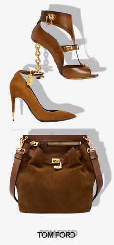 I don't pop Molly I rock Tom Ford!!! *Tom Ford* Brown Bag & Shoes #Accessories