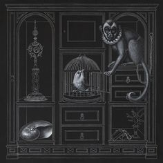 Madeline von Foerster-COLLECTION CABINET (DRAWING)