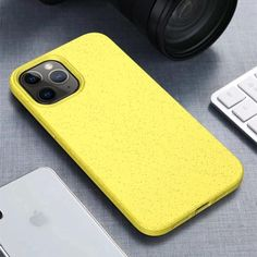 Wheaty Case Biodegradable iPhone Cases - For iphone11 / Yellow / China