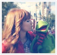 me and kermit!