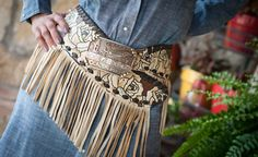 I love the colors and stitching on this one Cowgirl Belts, Cowgirl Dresses, Cowgirl Chic, Western Belts, Cowgirl Style, Western Wear, Cowgirl Clothing, Gypsy Cowgirl, Hippie Clothing