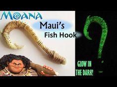 DIY Maui's Fish Hook Glow In The Dark Polymer Clay || Maive Ferrando - YouTube