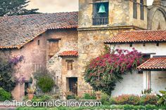 Spring Evening Carmel Mission - Spring+Evening+Carmel+Mission+California