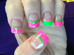 Reminds me of watermelon-pink and green. Watermelon reminded me of Cape Cod. Yessss. SUMMER!!!