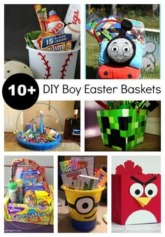 Edible easy diy easter basket ideas for teens easy gift ideas beatnik kids 10 diy easter baskets for boys and girls that like really cool stuff crafts holiday crafts round up sewing for kids round up easter baskets negle Images