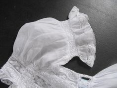 Exquisite Vintage French Handmade Christening Gown from Vintagefrenchlinens on Etsy