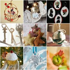 25 DIY Ornaments christmas