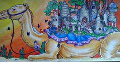 #kerbyrosanes #Imagimorphia #camel #doodle #pencils #coloring