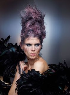 """Hunger Games: Catching Fire """"Capitol Couture"""" Hair"""