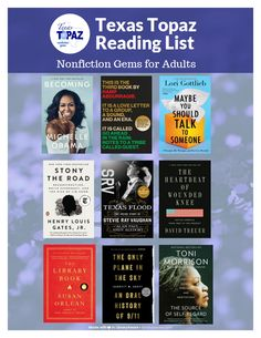 #TLA2020 #flyer #books #MadeinLibraryAware Go Ahead, Reading Lists, Nonfiction, Lettering, Templates, Books, Non Fiction, Calligraphy, Stencils